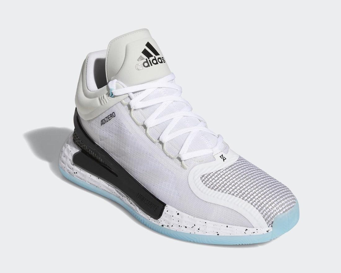 adidas D Rose 11 White Black FX6539 Release Date Info