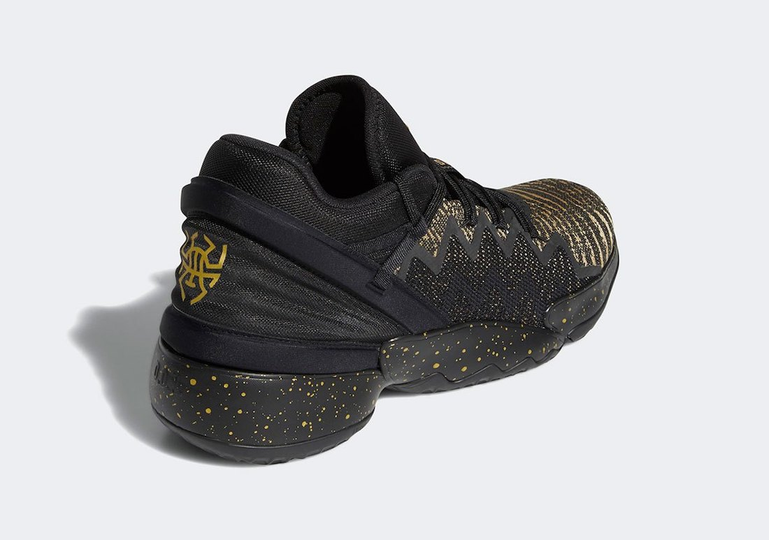 adidas DON Issue 2 Black Gold FX7108 Release Date Info