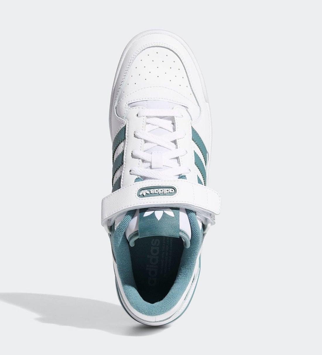 adidas Forum Low Hazy Emerald adidas Forum Low Hazy Emerald FY7758 Release Date Info