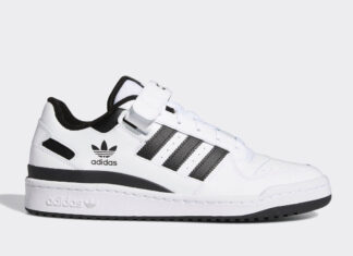 adidas Forum Low White Black FY7757 Release Date Info