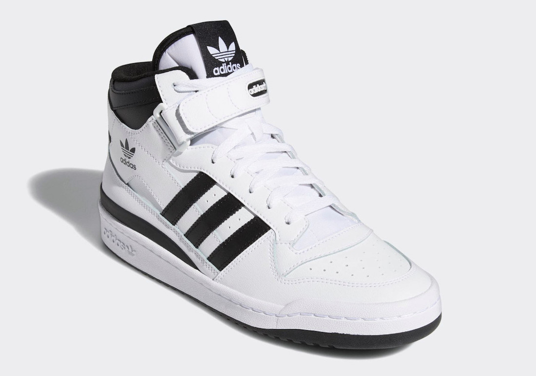 adidas Forum Mid White Black FY7939 Release Date Info