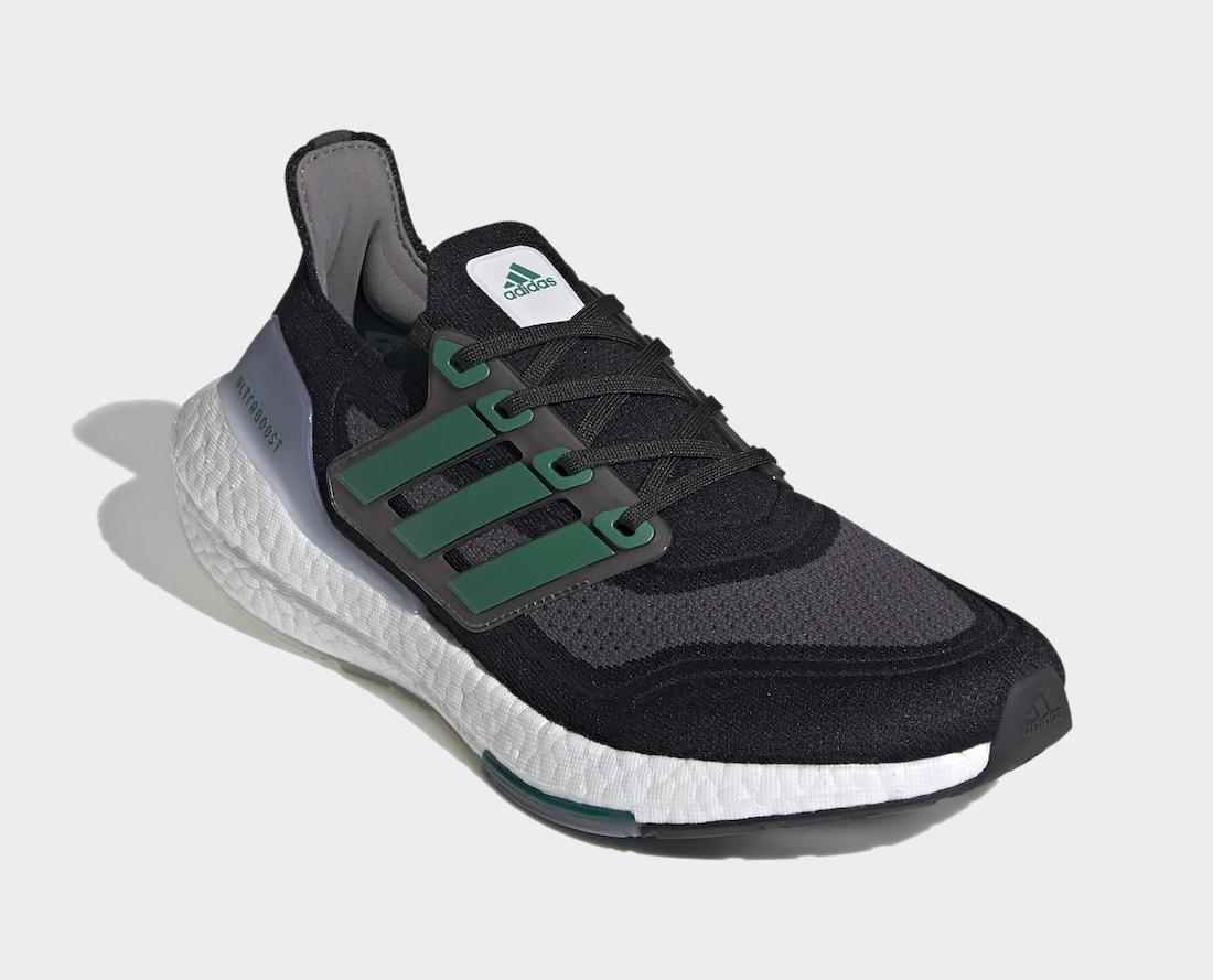 adidas Ultra Boost 2021 Black Sub Green FZ1923 Release Date Info
