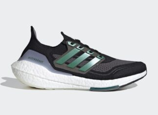 adidas Ultra Boost 2021 Black Sub Green FZ1923 Release Date Info