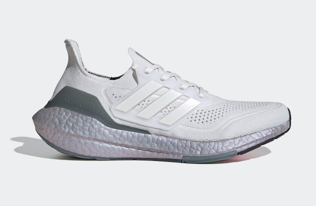 nuove adidas 2018 shoes size women Crystal White Hazy Green FY0383 ...