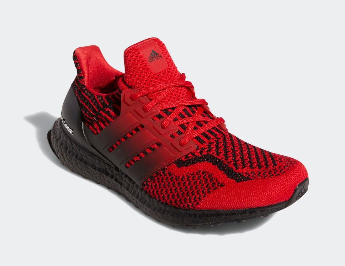 adidas Ultra Boost 5.0 DNA Scarlet Black H01014 Release Date Info