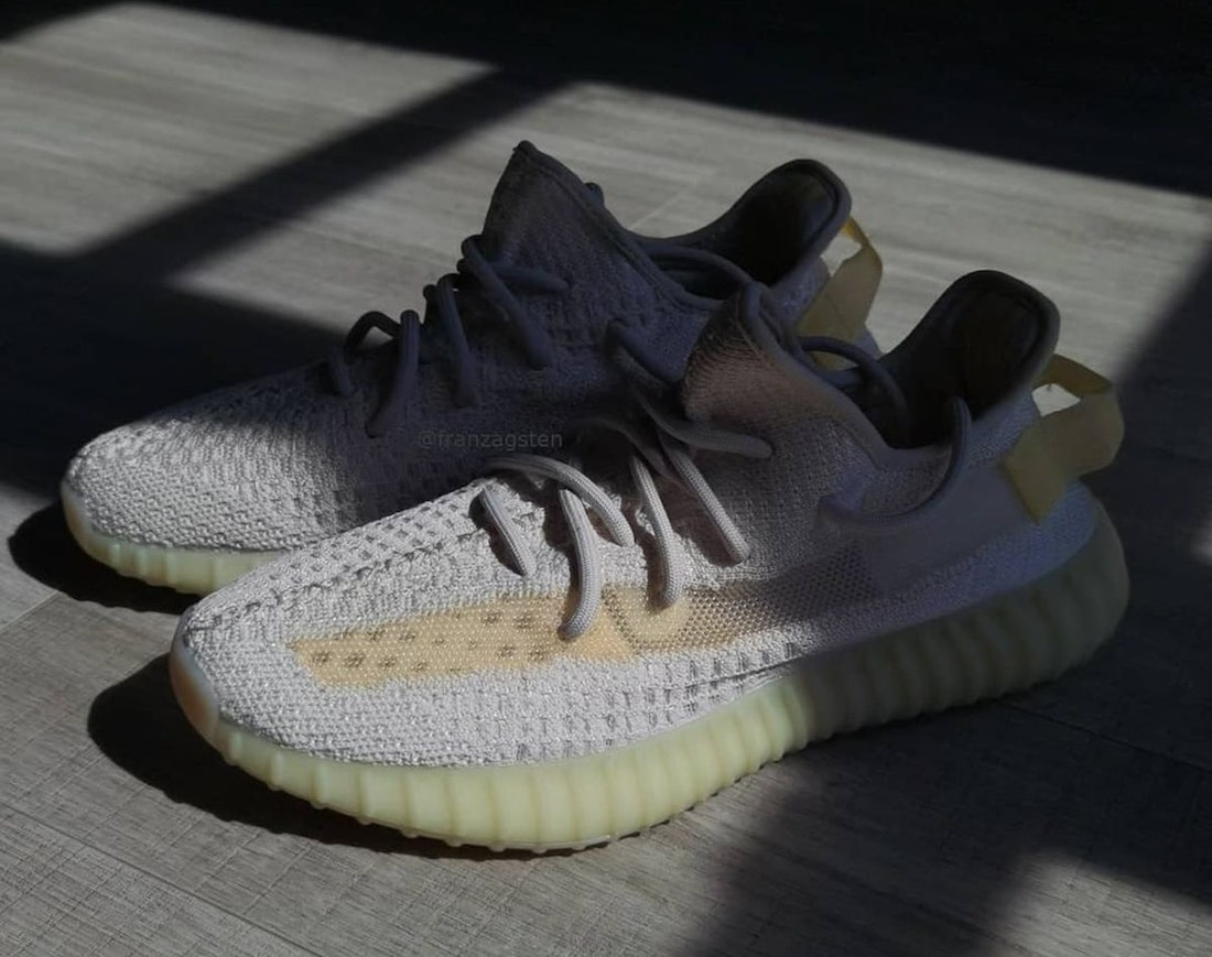 adidas Yeezy Boost 350 V2 Light UV GY3438 Release Details