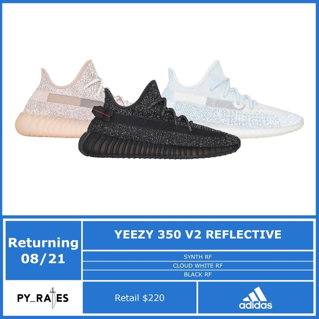 adidas Yeezy Boost 350 V2 Reflective 2021 Release Date Info