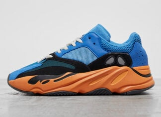 adidas Yeezy Boost 700 Bright Blue Orange GZ0541