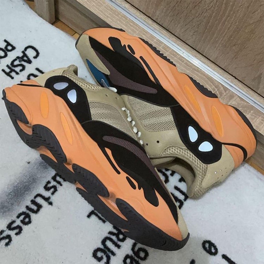 adidas Yeezy Boost 700 Enflame Amber Release Date