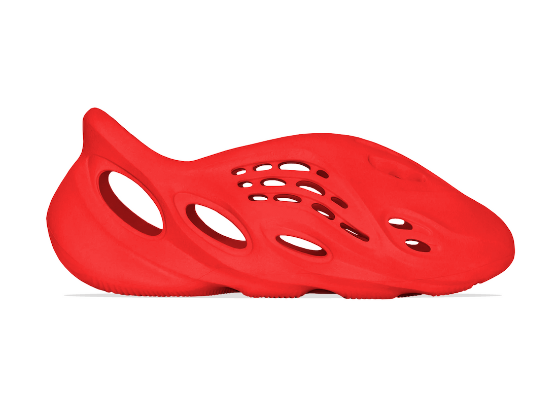 adidas Yeezy Foam Runner Vermilion Red October Release Date Info