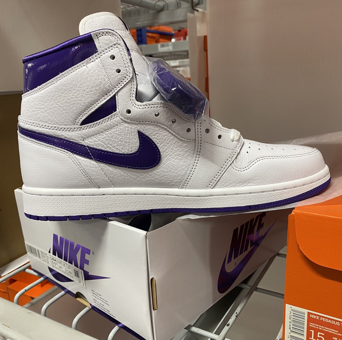 Air Jordan 1 Court Purple Release Date CD0461-151 Medial Side