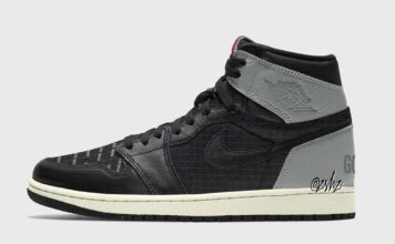 Air Jordan 1 Element Gore-Tex Black Grey DB2889-001 Release Date Info