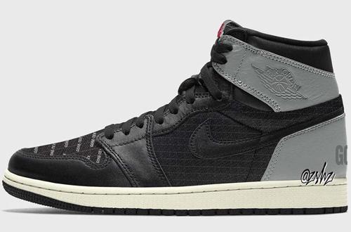 Air Jordan 1 Element Gore-Tex Black Grey Release Date