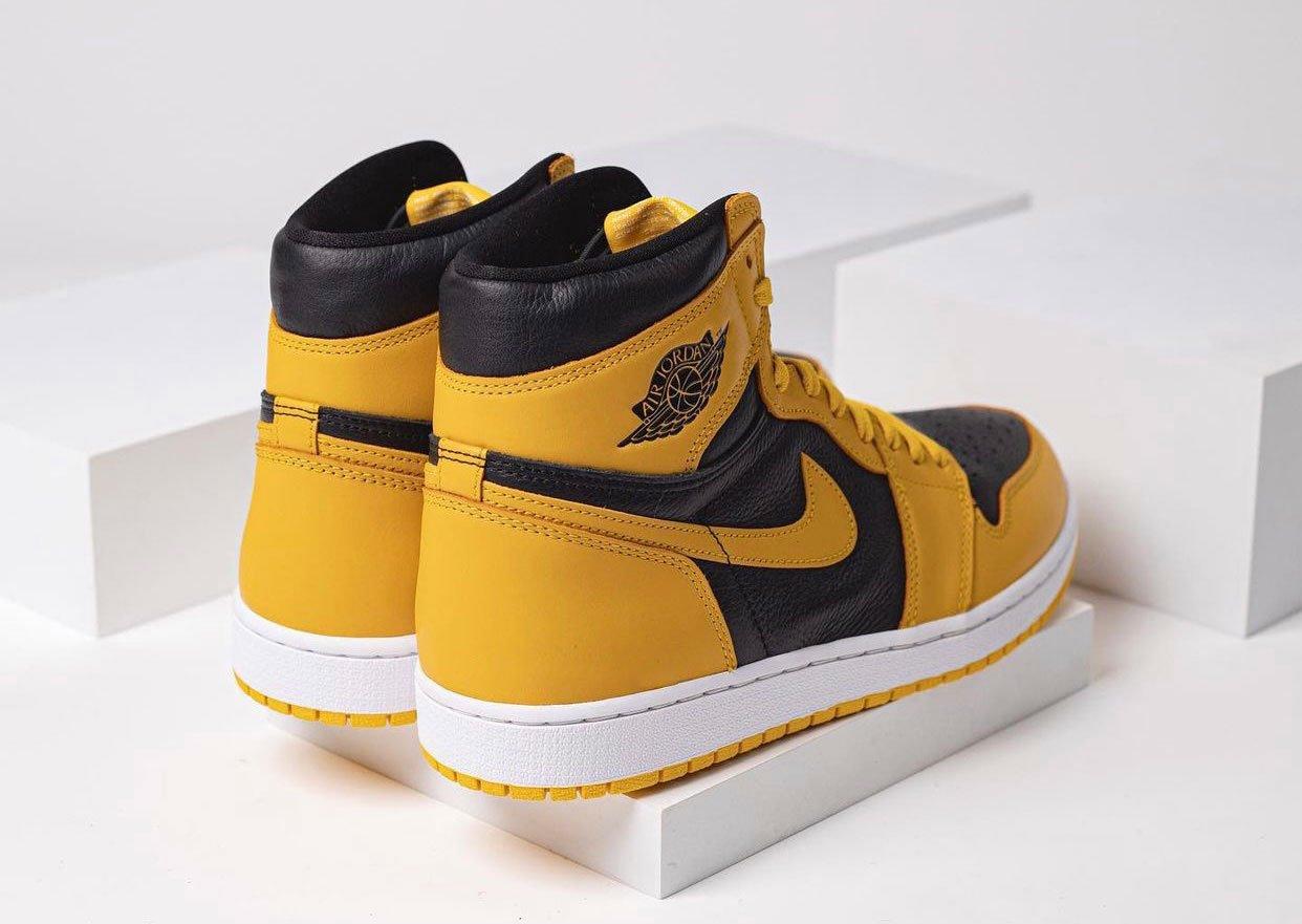 Air Jordan 1 High OG Pollen 555088-701 Release Date