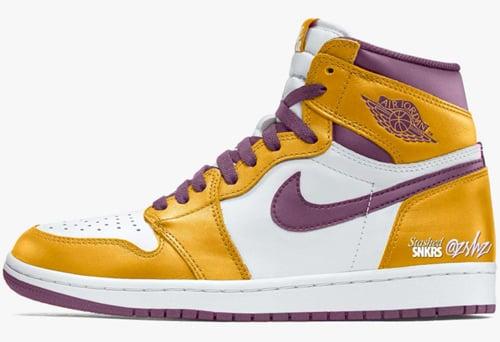 Air Jordan 1 Lakers 2022 Release Date