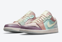 Air Jordan 1 Low Multi Pastel DJ5196-615 Release Date Info
