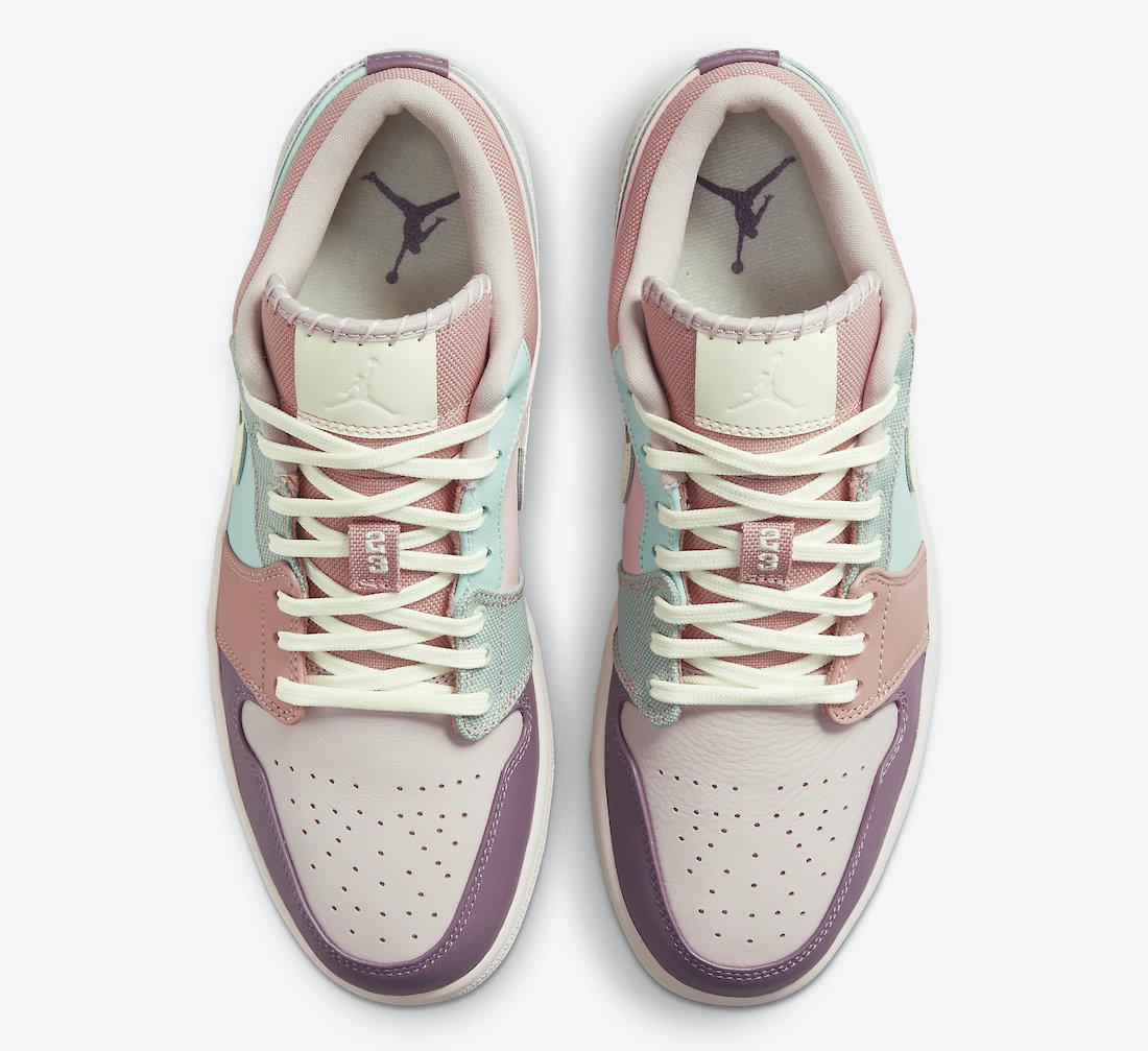 Air Jordan 1 Low Multi Pastel DJ5196-615 Release Date Info