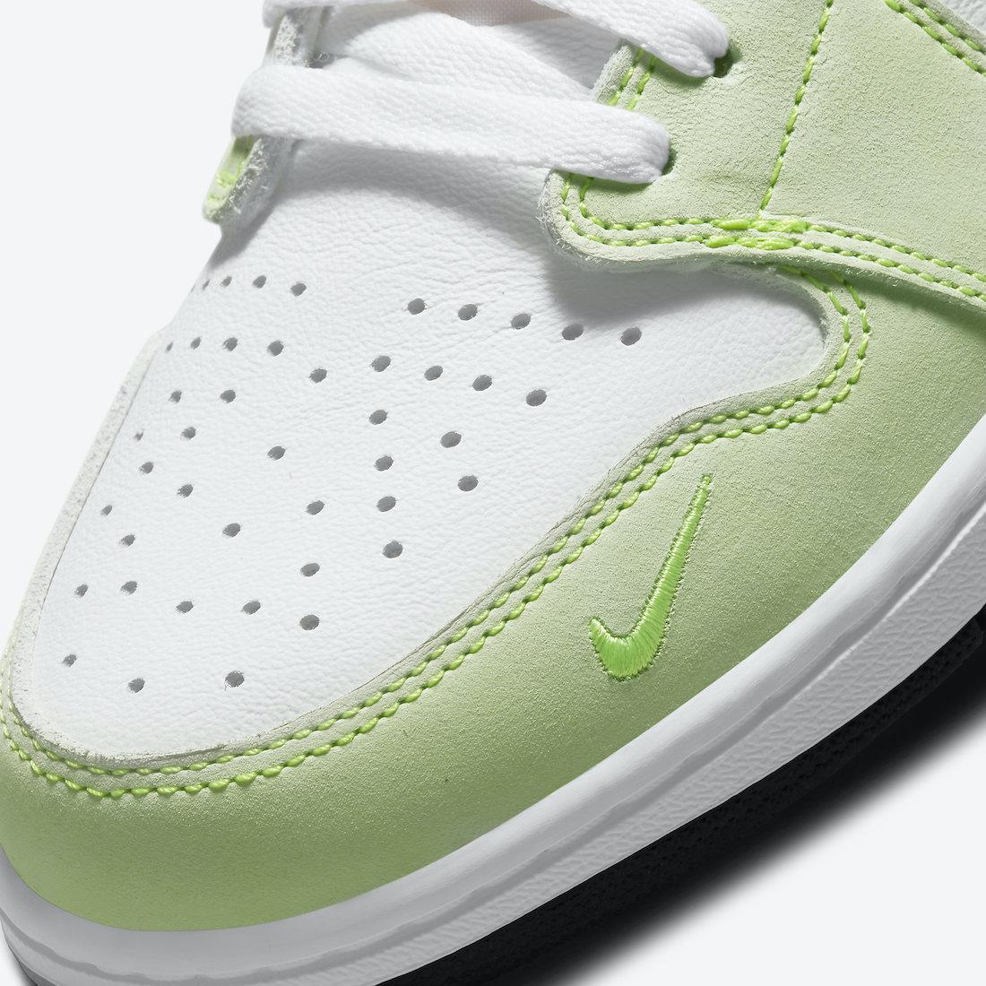 Air Jordan 1 Low OG Ghost Green CZ0790-103 Release Date Info