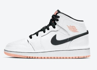 Air Jordan 1 Mid GS Arctic Orange 554725-180 Release Date Info