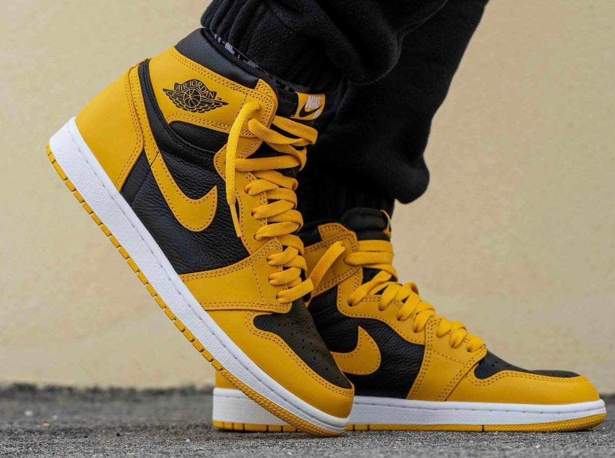 Air Jordan 1 Pollen 555088-701 On-Feet