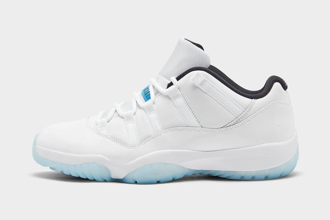 Air Jordan 11 Low Legend Blue Release Date