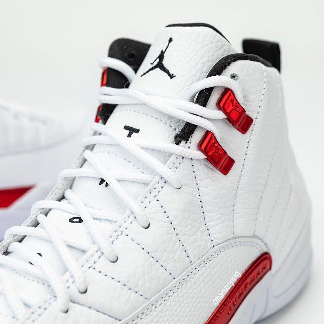 Air Jordan 12 Twist White Red CT8013-106 Release Date