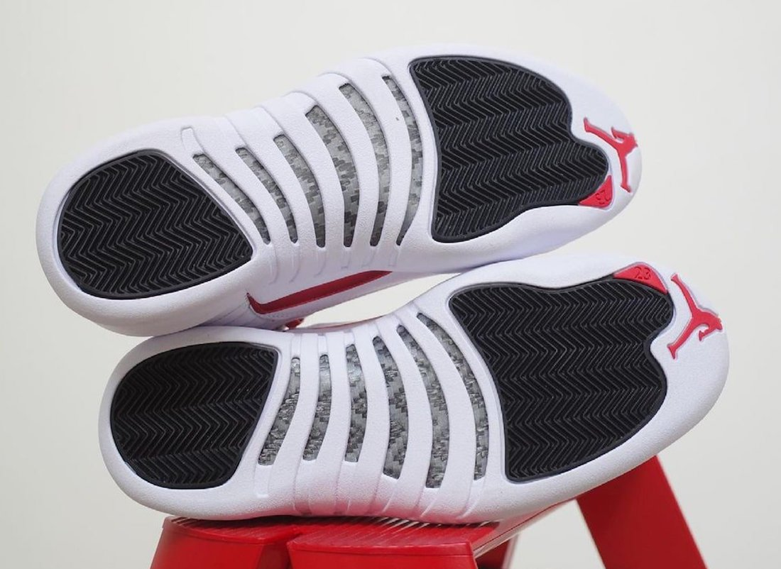 Air Jordan 12 Twist White Red Black CT8013-106 Release Date