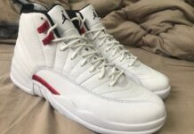 Air Jordan 12 Twist White University Red CT8013-106
