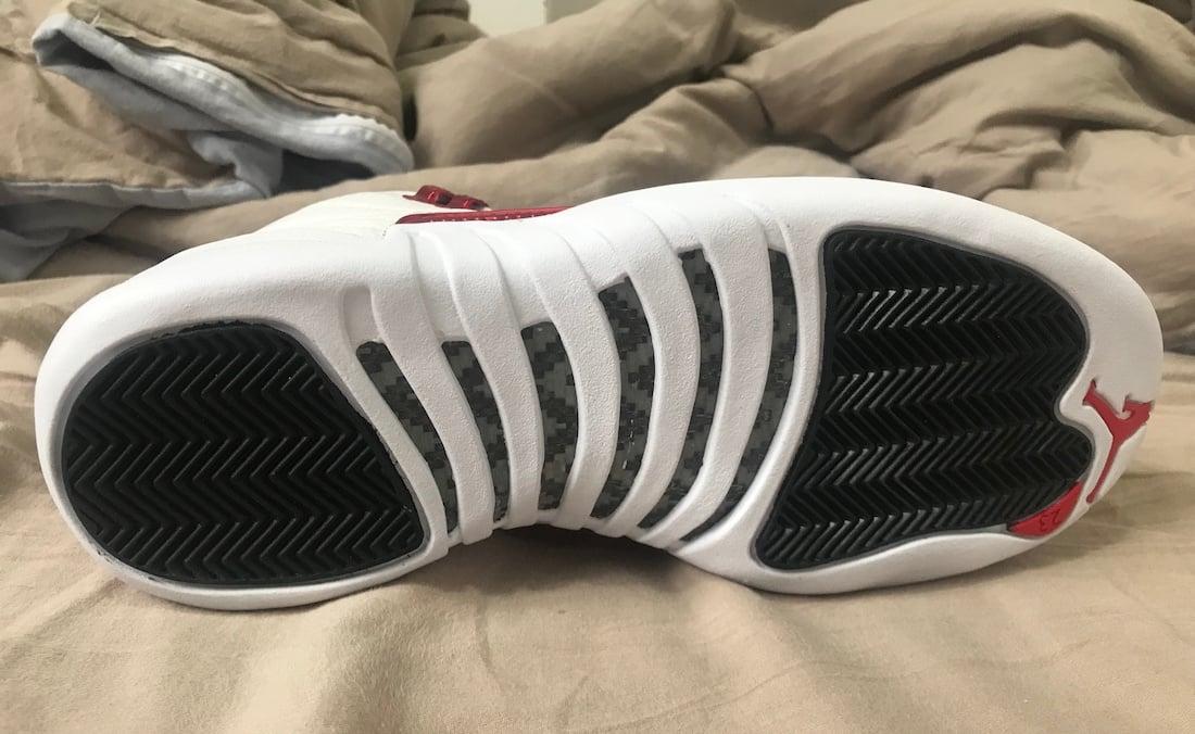 Air Jordan 12 Twist White University Red CT8013-106 Release Info