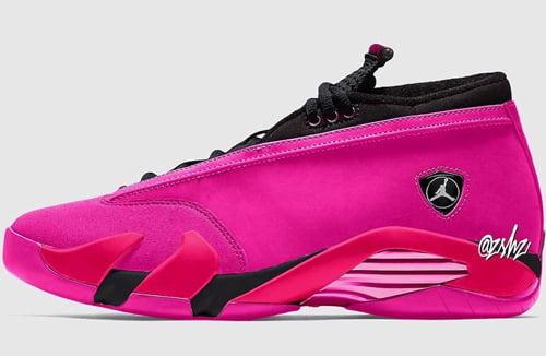 Air Jordan 14 Low Shocking Pink Release Date