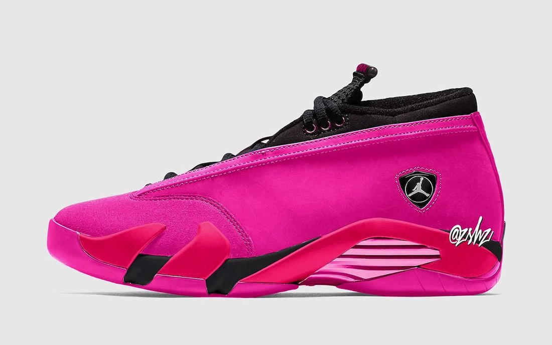 Air Jordan 14 Low Shocking Pink Release Date Info