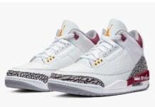 Air Jordan 3 Cardinal 2022 Release Date Info