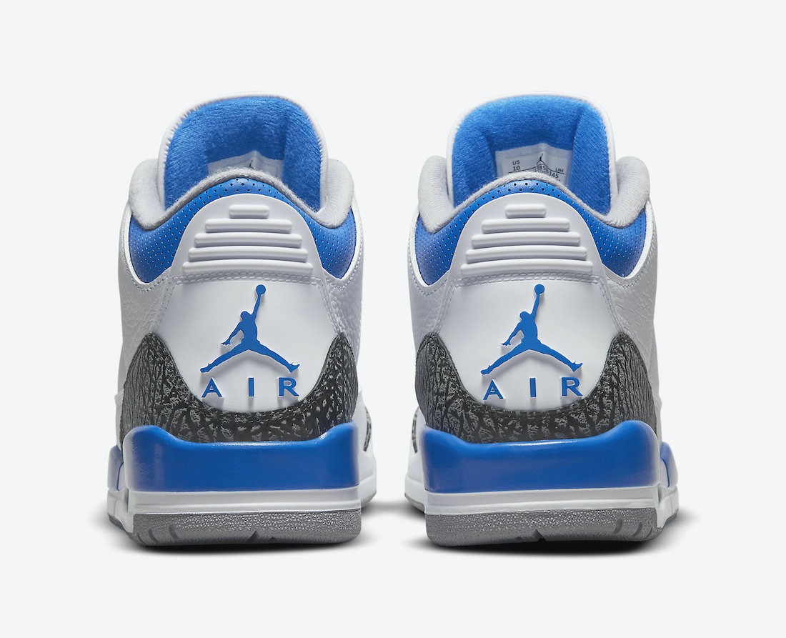 Air Jordan 3 Racer Blue CT8532-145 Release Info Price