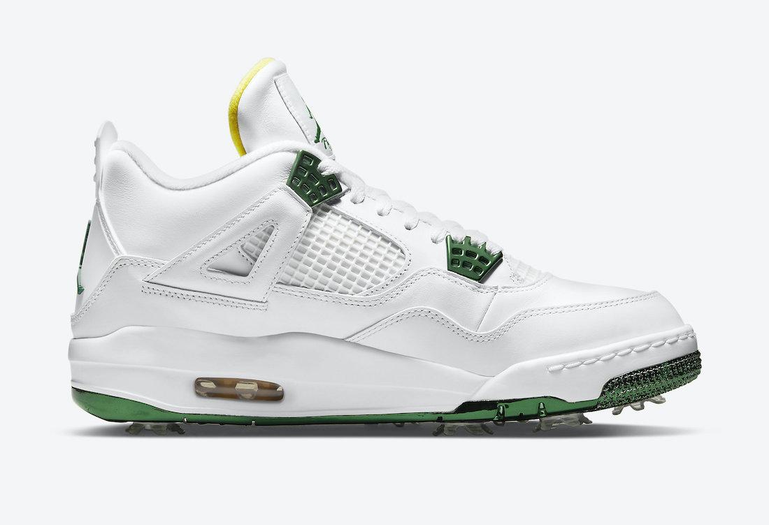 Air Jordan 4 Golf Metallic Green CZ2439-100 Release Date