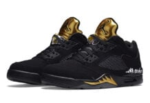Air Jordan 5 Low Black Metallic Gold Release Date Info