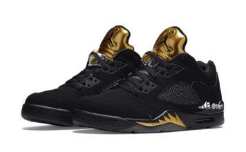 Air Jordan 5 Low Black Metallic Gold Release Date Info