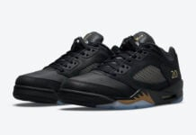 Air Jordan 5 Low Wings Class of 2020-2021 DJ1094-001 Release Date