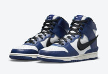 Ambush Nike Dunk High Deep Royal Blue CU7544-400 Release Date Price