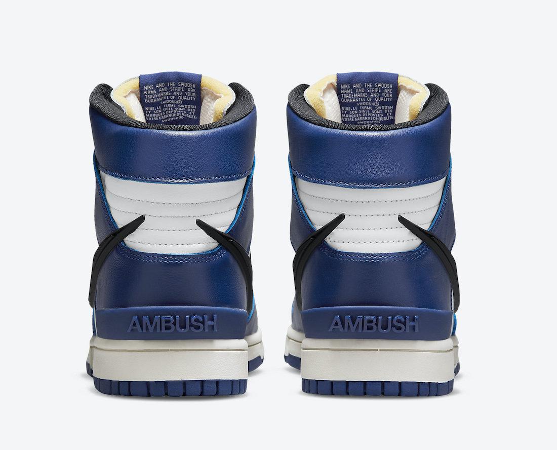 Ambush Nike Dunk High Deep Royal Blue CU7544-400 Release Date Price