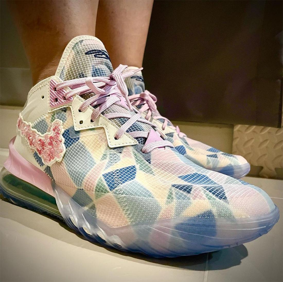 atmos Nike LeBron 18 Low Sakura Release Date Info