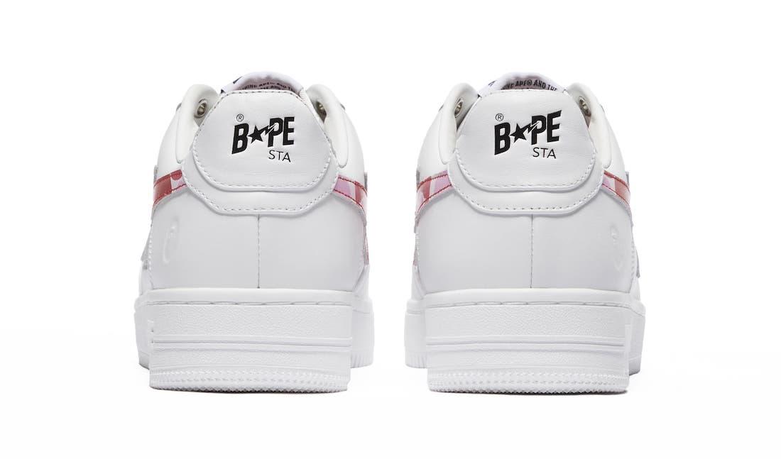 Bape Sta White Pink Camo Release Date