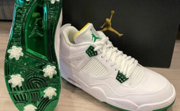 Bubba Watson Air Jordan 4 Golf Masters
