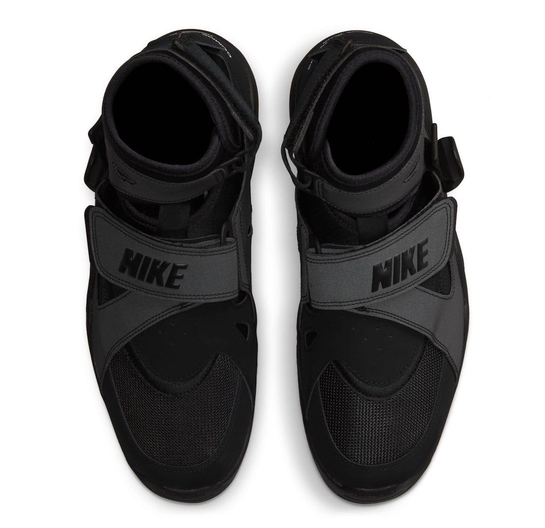 Comme des Garcons Homme Plus Nike Air Carnivore Black Release Date Info