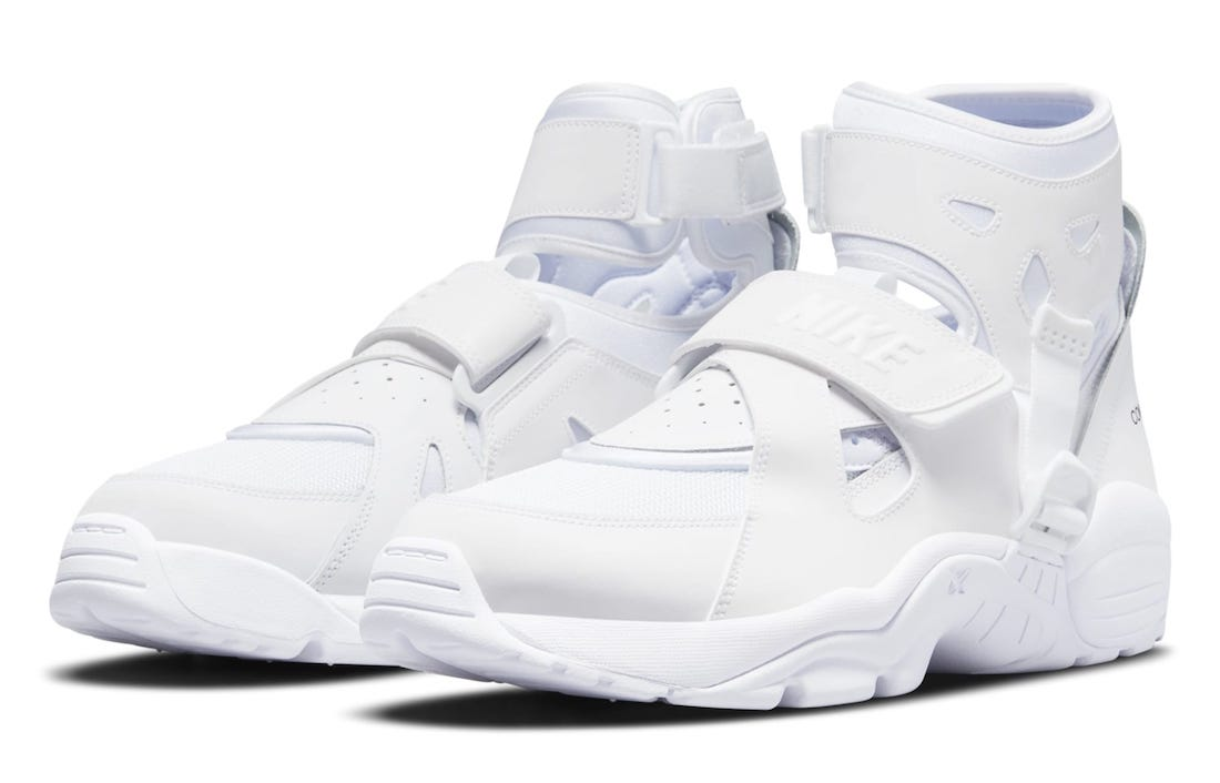Comme des Garcons Homme Plus Nike Air Carnivore White Release Date Info