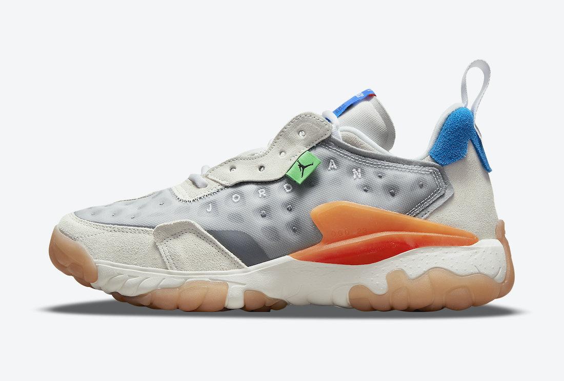 Jordan Delta 2 Grey Orange Blue CV8121-004 Release Date Info