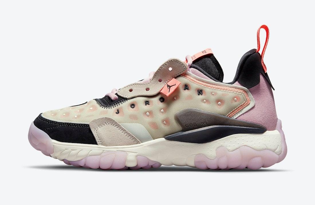 Jordan Delta 2 WMNS Pink Black CW0913-061 Release Date Info