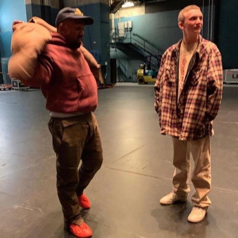 Kanye West adidas Yeezy Foam Runner Vermilion Red October