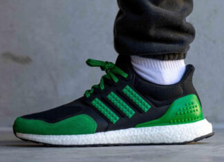 LEGO adidas Ultra Boost Black Green Release Date Info