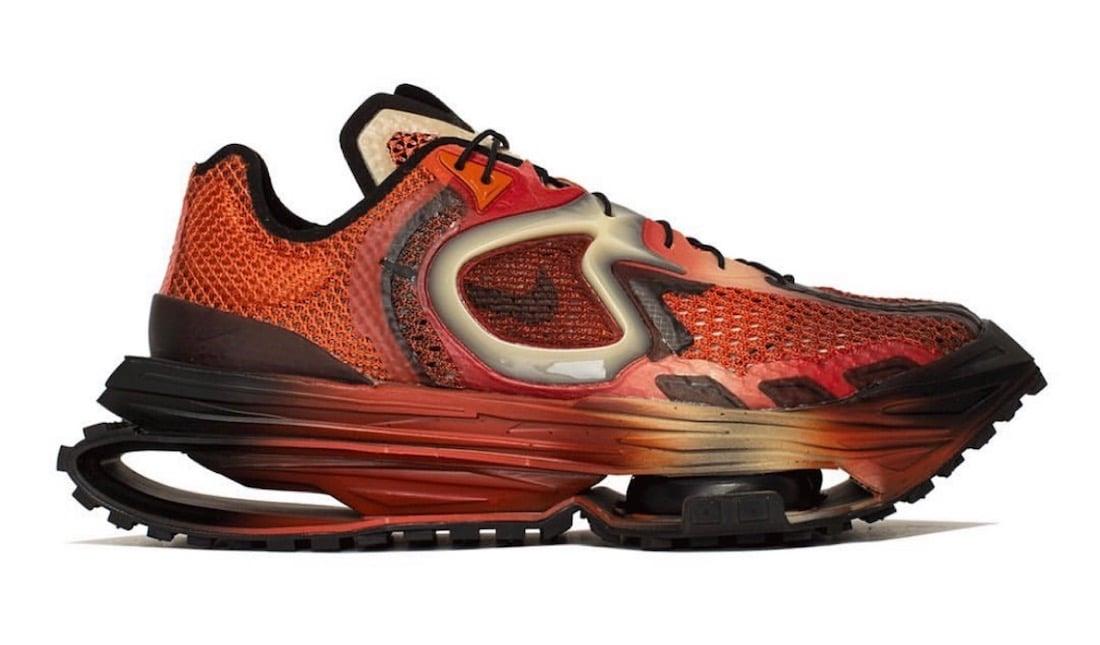 Matthew M Williams Nike Zoom MMW 4 Rust Factor DC7442-800 Release Date Info