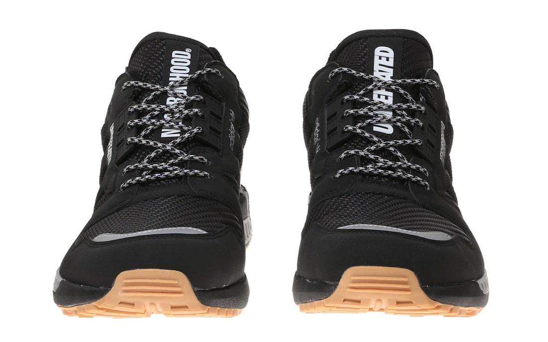 Neighborhood Undefeated adidas ZX 8000 Black Gum Q47206 Release Date